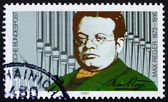 Postage stamp Germany 1991 Max Reger — Stock Photo