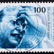 Stock Photo: Postage stamp Germany 1995 Dietrich Bonhoeffer