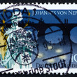 Postage stamp Germany 1993 St. John of Nepomuk — ストック写真