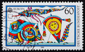 Postage stamp Germany 1995 Kites — Foto Stock