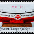 Stock Photo: Postage stamp Germany 1990 GermLife Boat Institution