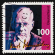 Постер, плакат: Postage stamp Germany 1995 Kurt Schumacher Politician