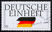 Postage stamp Germany 1995 German Reunification — Stock Photo