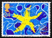 Postage stamp GB 1992 Single European Market — Stock Photo