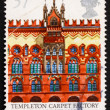 Postage stamp GB 1990 Templeton Carpet Factory — Stock Photo