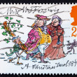 Stock Photo: Postage stamp GB 1993 Mr. and Mrs. Fezziwig