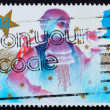 Stock Photo: Postage stamp GB 1985 Principal boy, Christmas pantomime
