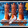 Postage stamp GB 1983 Three Kings chimney pots - 图库照片