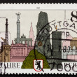 Postage stamp Germany 1987 City of Berlin — Stock Photo