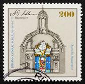 Postage stamp Germany 1995 Nievenheim altar by Johann Conrad Sch — Stock Photo