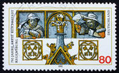 Postage stamp Germany 1995 City of Regensburg — Stock Photo