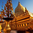 Stock Photo: Temple in Myanmar