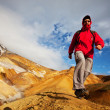 Hike in Iceland — Stock Photo