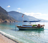 Boat in Turkey — Stock Photo