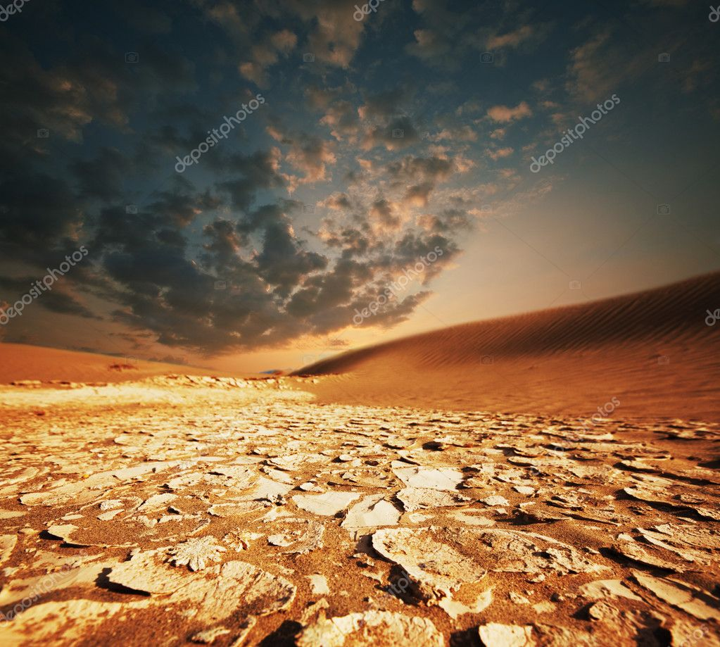 Sahara desert — Stock Photo #7638825