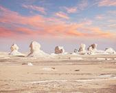 White desert in Egypt — Stock Photo