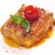 Royalty-Free Stock Photo: Classic lasagna bolognese