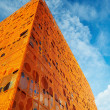 Modern orange building — Stock Photo #7285823
