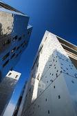Weg naar de top van moderne gebouwen — Stockfoto