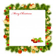 Christmas card — Stock Vector