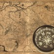 Ancient compass — Stock Photo #6890935