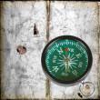 Ancient compass — Stock Photo #6891610