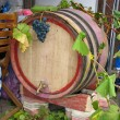 Vintage old wooden barrel - Lizenzfreies Foto
