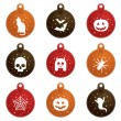 Halloween tags — Stock Vector #6812945