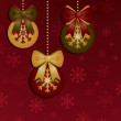 Christmas decoration — Stock vektor #6934598