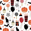 Halloween pattern — Image vectorielle