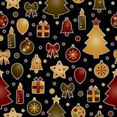 Weihnachtsmuster — Stockvektor