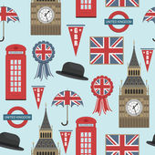 Great britain pattern — Stockvector