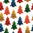 Christmas tree pattern — Stok Vektör