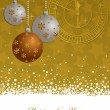 Gold new years background — Stockvector  #7468139