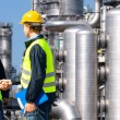 Petrochemical contractors — Stock Photo