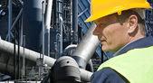 Trabajador industrial — Foto de Stock