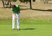 Golf Put — Stock Photo