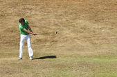 Golf swing — Stock Photo