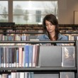 Stock Photo: Woman in Library