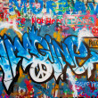 Royalty-Free Stock Photo: Lennon wall in Prague