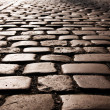 Cobble Stone road — Stock Photo