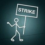 Strike — Stock Photo
