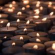 Stock Photo: Spcandles