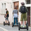 Segway in Prague - Stock Photo