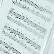 Music sheet - Stock Photo