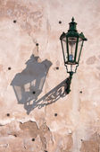 Street lantern in Prague — Stock Photo