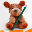 Teddy bear — Stock Photo #7266927