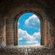 Stock Photo: Heavens Gate