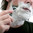 Stock Photo: Shaving
