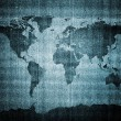 Grunge world map — Stock Photo #7769002